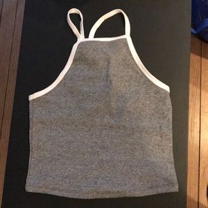 Zara Cropped tank top